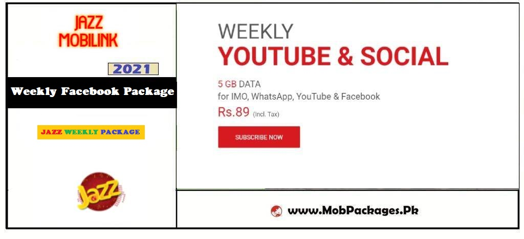 Mobilink Jazz Weekly Facebook Package 2021 Latest