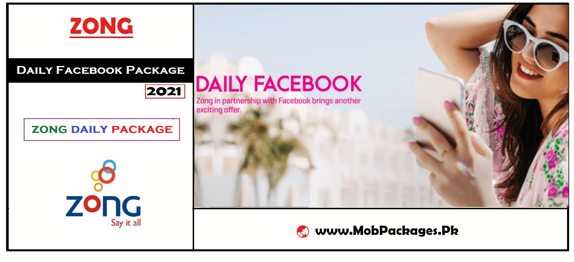 Zong Facebook Daily Package