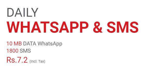 Mobilink Jazz Daily Whatsapp & SMS Offer 2021