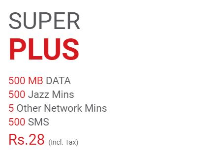 Mobilink Jazz Daily Super Plus Offer 2021