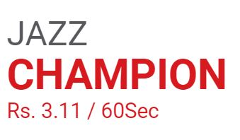 Mobilink Jazz Champions Package 2021