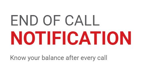 Jazz end of call notification