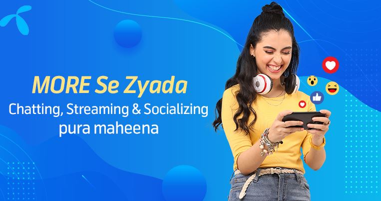 Telenor Monthly ultra internet package 2021