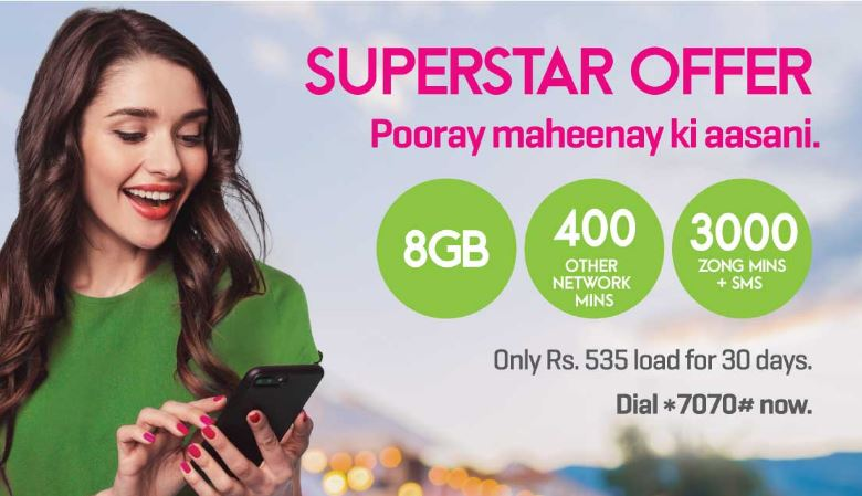 Zong Super Star Package 2021