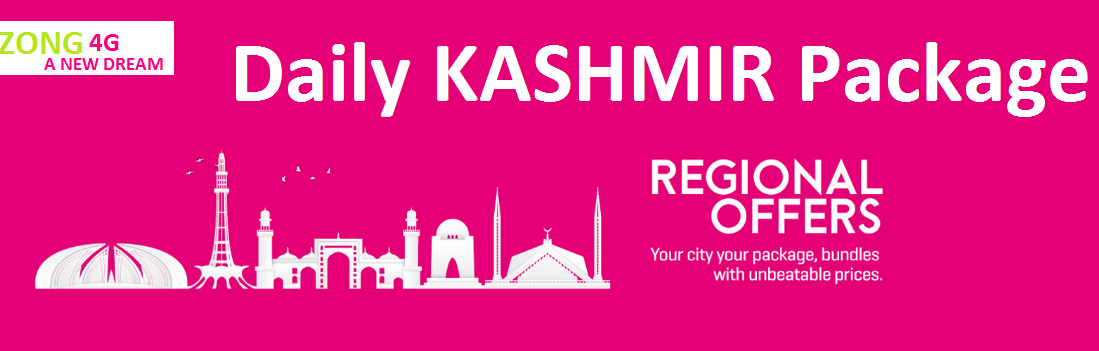 Zong Daily Kashmir Package 2022