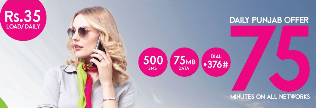 Zong Daily Punjab Offer 2021
